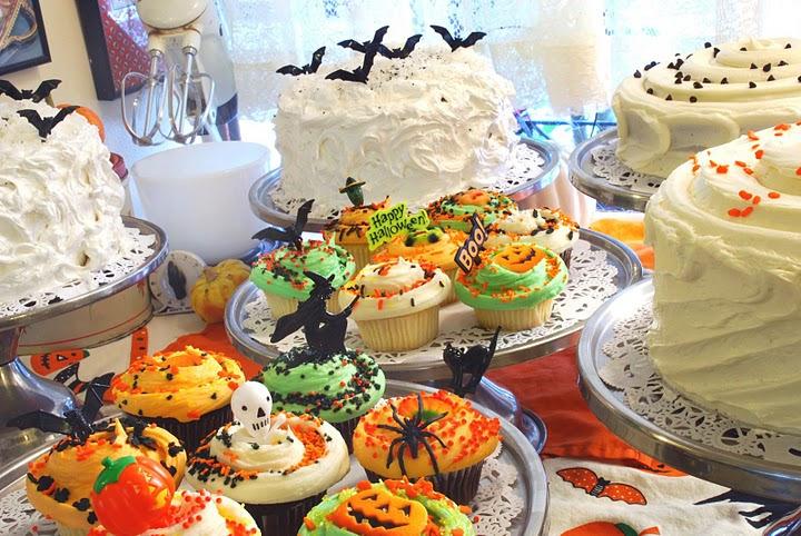 Halloween themed treats