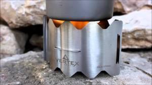 vertex ultralight stove