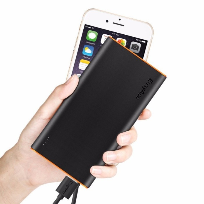 Best Power Bank For iPhone:EasyAcc 10000mAh Power Bank