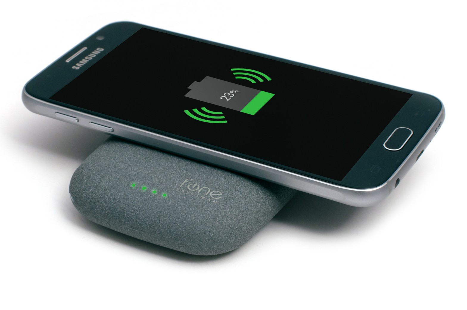 Wireless Charging Power Bank & Wireless Charger for Smartphone