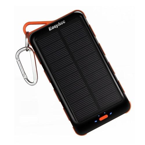 EasyAcc Solar Panel Power Bank