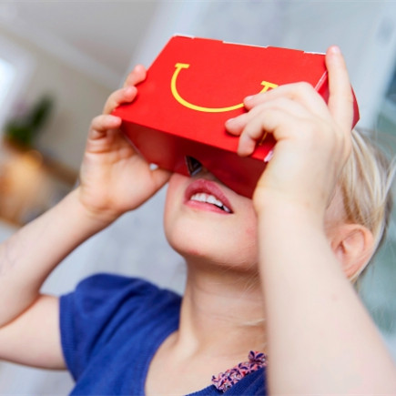 How to Make a VR Headset from a Happy Meal Box