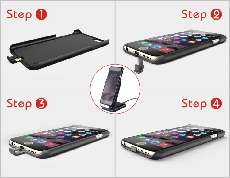 Add Wireless Charging to Your iPhone: wireless charging iphone case