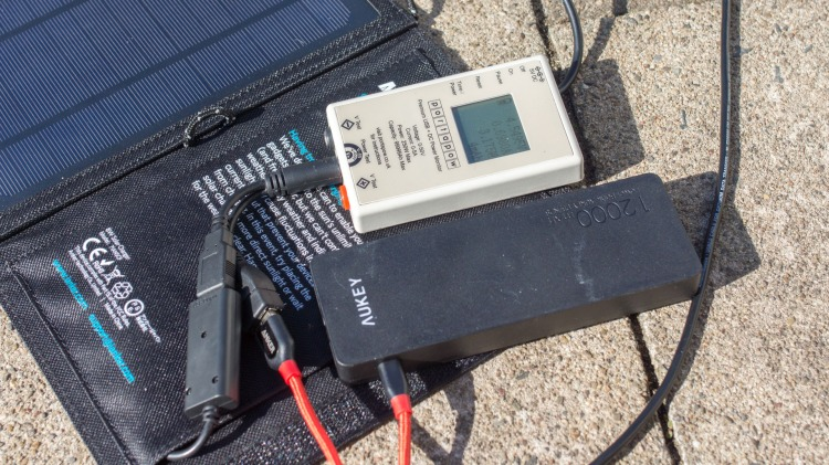 9 USB Solar Charger Test of Anker, EasyAcc, AUKEY