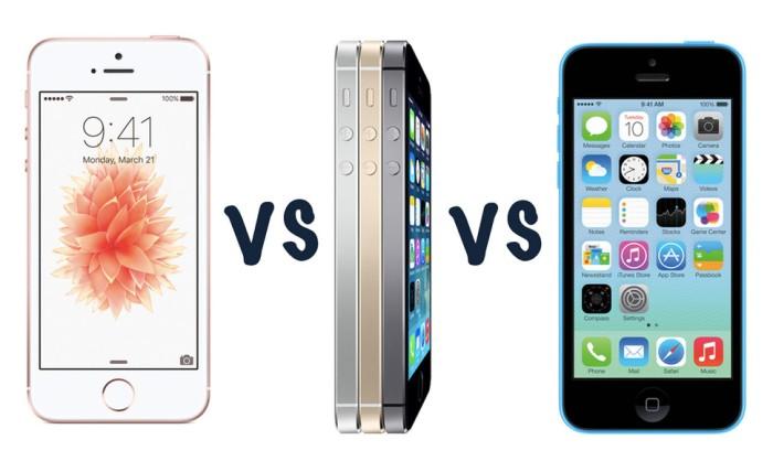 iPhone 5s SE. Same Design