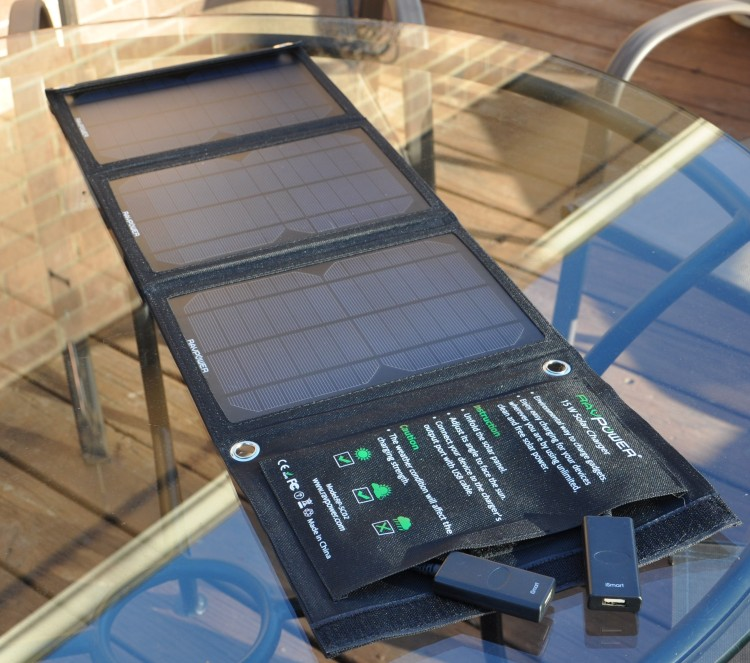 Best Solar Charger:Ravpower Solar Charger