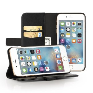 EasyAcc Apple iPhone 7 Cover Leather Wallet Case