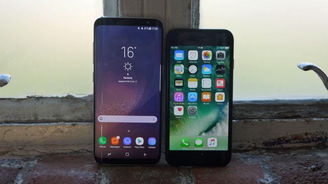 Samsung Galaxy S8 vs iPhone 7 2