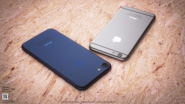 iPhone 7 Comes with New Color Dark Blue 2
