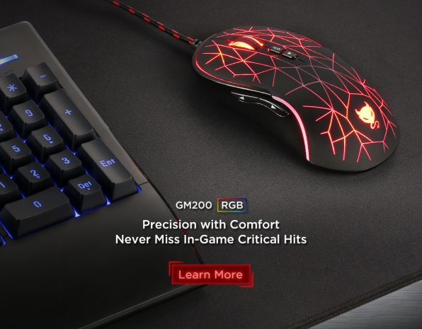 RGB Gaming Mouse for Small Hands