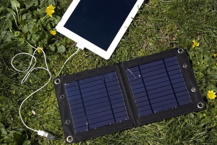 Solar Panel for Adventure Travelers