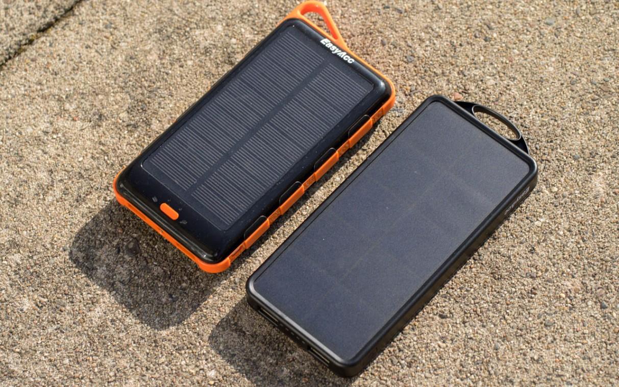 easyacc solar 15000mAh power bank