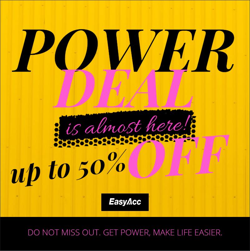 Power Bank 20000mAh 40% Deal