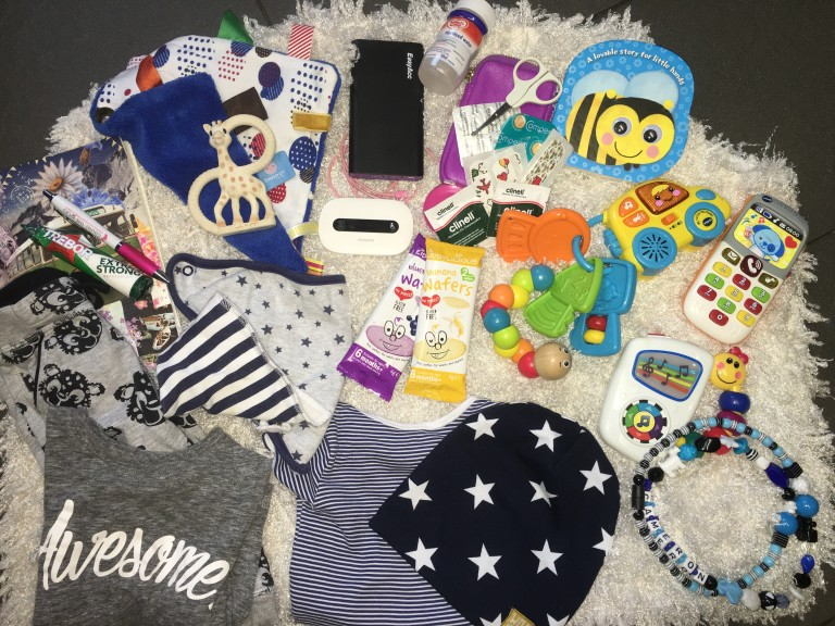 What's in My Changing Bag