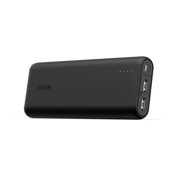 Top 10 Awesome Tech Accessories for smart phones: Anker 20000 mah power bank