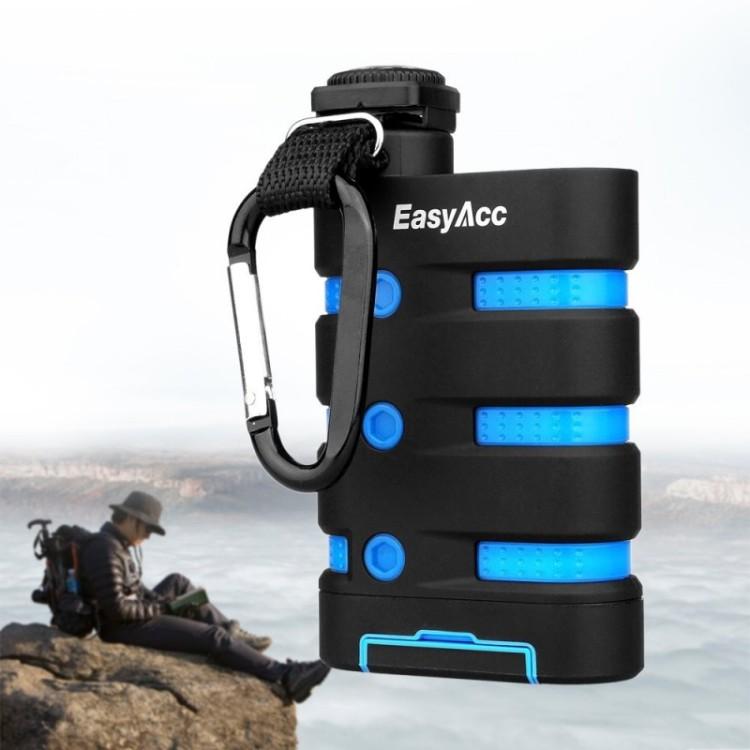 EasyAcc waterproof power bank for hiking