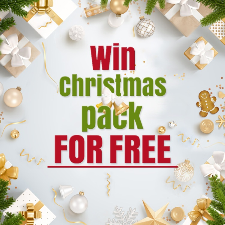 EasyAcc giveaway Christmas Pack for free
