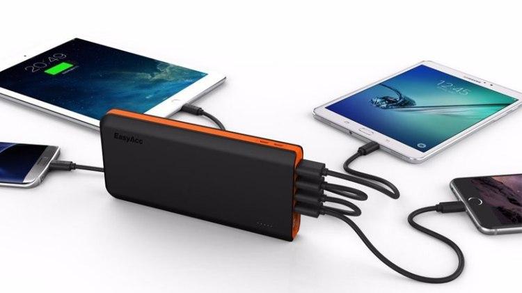 Portable Power Bank 20000mAh
