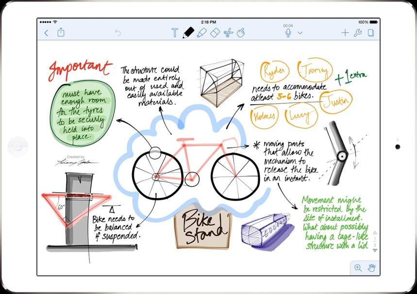 Best Writing Apps for iPad 2