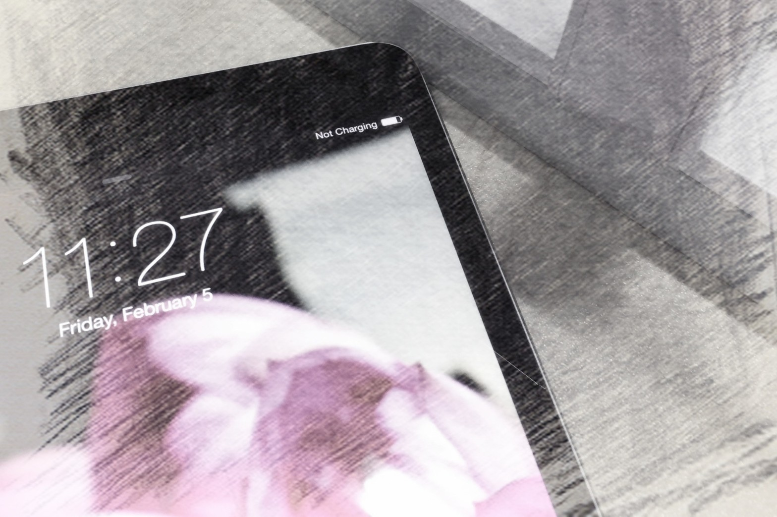 Why iPad says no charging