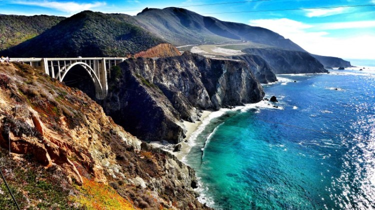 California for summer vacation